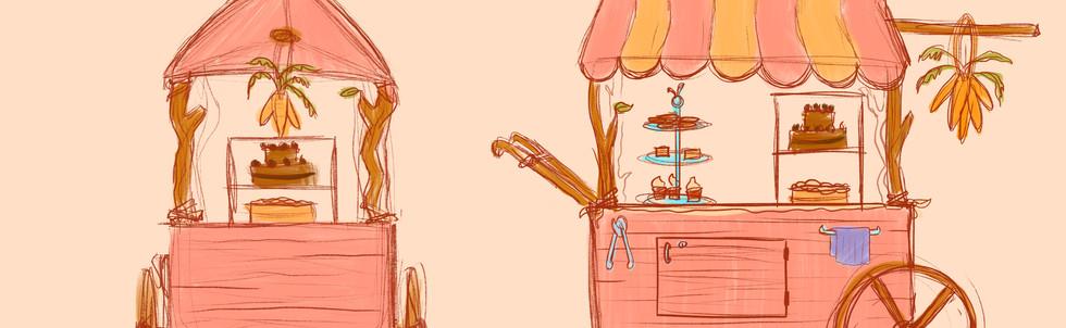 Buns Buns Sketches