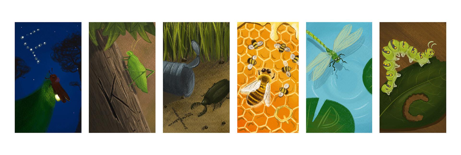 Alphabet Bugs