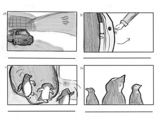 Aquarium Storyboards