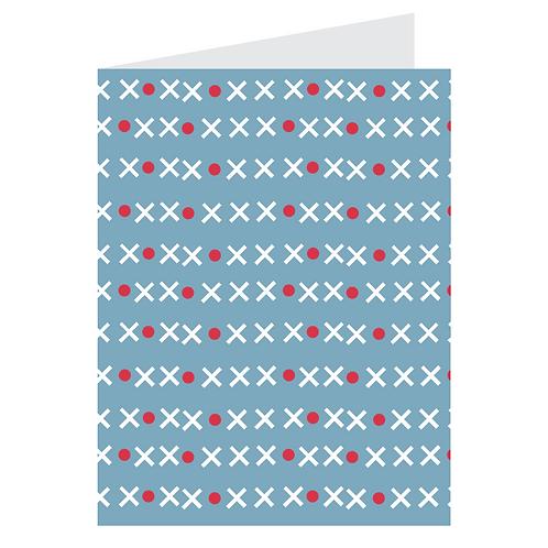 x marks the spot blue