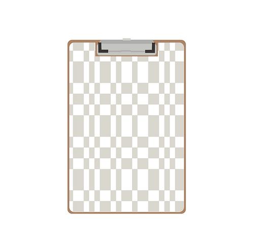 CLIPBOARD grey tile pattern