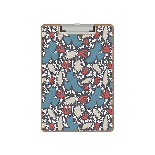 CLIPBOARD design sponge winter pattern