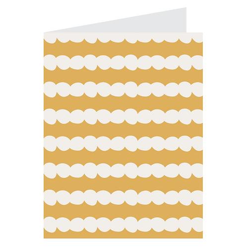 polka stripe yellow