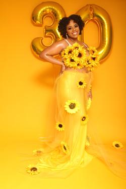 Sunflower Skirt and Bra $100