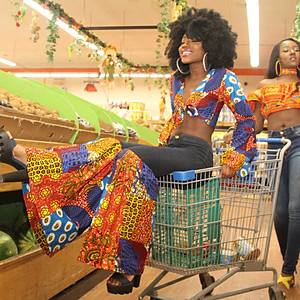 African Foods Market Shoot