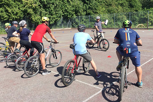 Coach Training with British Cycling