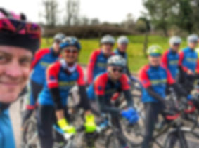 Chepstow Cycling Club on the Gospel Pass