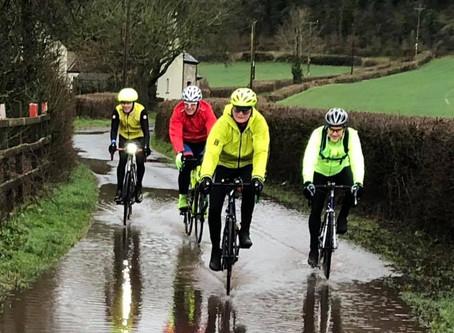 Its a bit wet out...