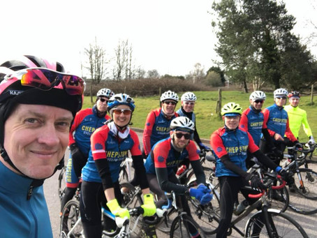 CCC Easter Ride - dedicated to those with hot cross buns