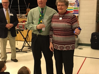 LIFT HONORS TED AND JUDY RISCH, DIRECTORS OF CAMP PARC
