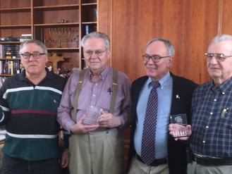 LIFT TO HONOR VOLUNTEER SPOTLIGHT AWARD RECIPIENTS: WALT FREIDHOFF, MALCOLM SNYDER & DAVE SHOEMA