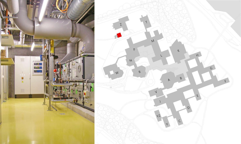 MTG Neubau Universität Konstanz Gebäude ZS
