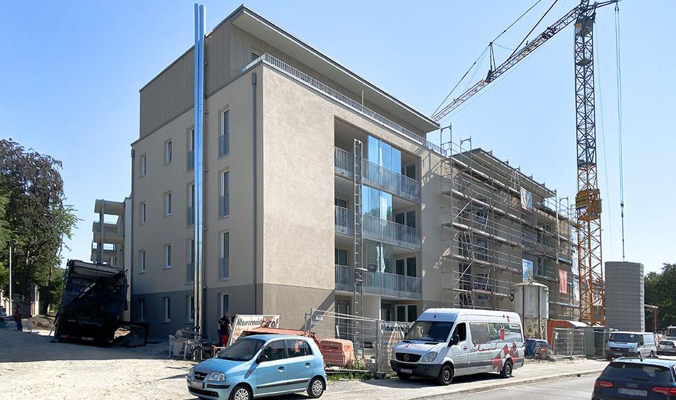 MTG Wohnpark Radolfzell Baustelle