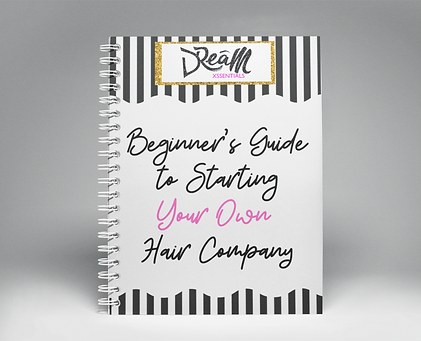 Beginner's Guide To Starting Your Own Hair Company