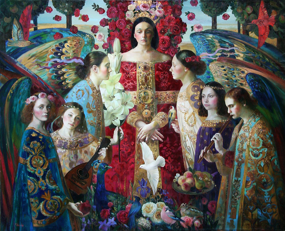 "Olga Suvorova (Russie), ""Annonciation"""