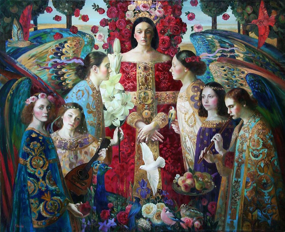 "Olga Suvorova (Russie), ""Annonciation"""