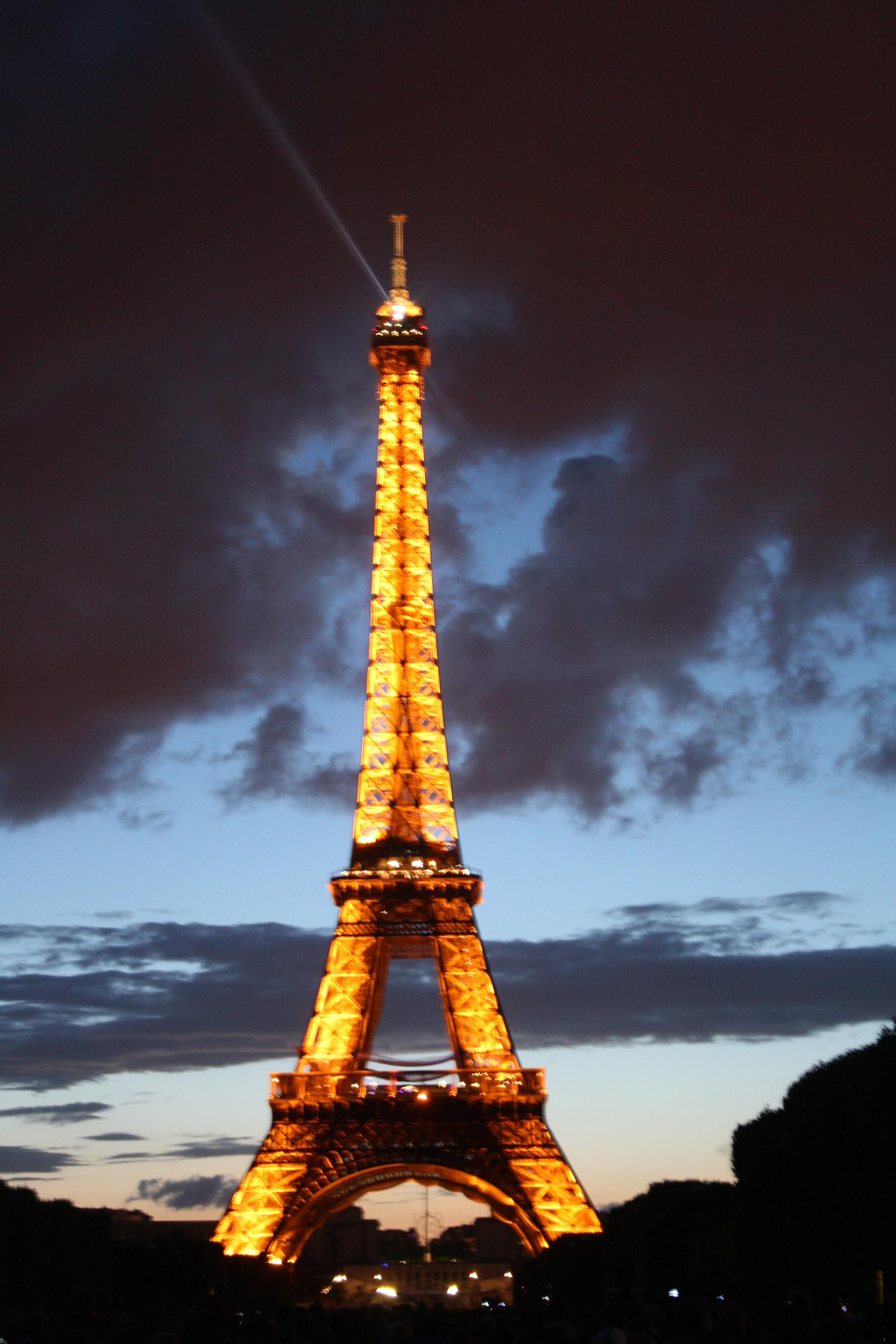 Eiffel tower - July 14th - 2
