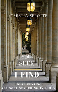 You Seek I Find - Photo at the Palais Royal by Carsten Sprote
