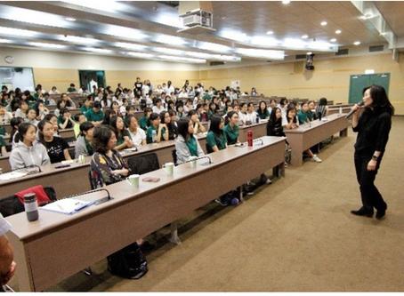 ABAF 的第一個返校講堂開講啦!