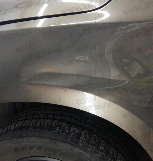 chevrolet ремонт вмятин без покраски ДО.