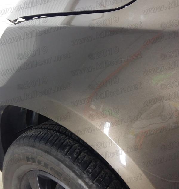 chevrolet ремонт вмятин без покраски ПОС