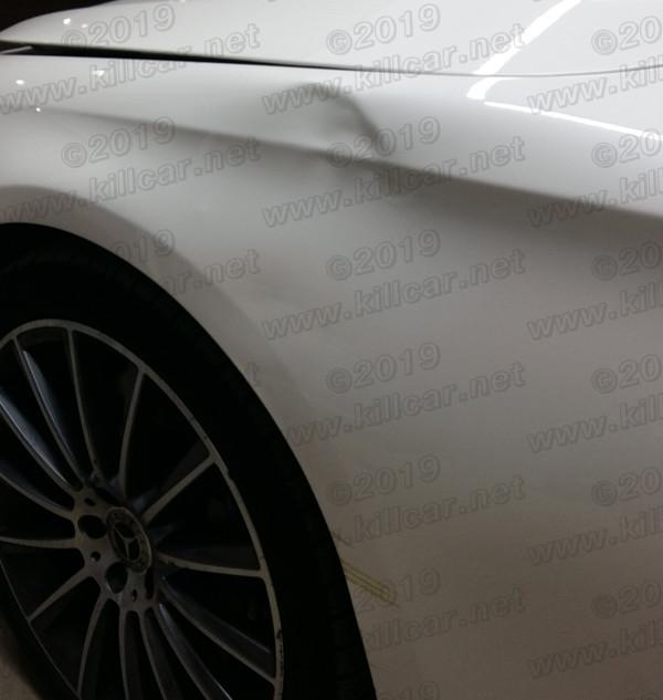 mercedes benz ремонт вмятин без покраски