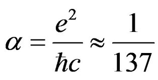 The fine structure constant (a)
