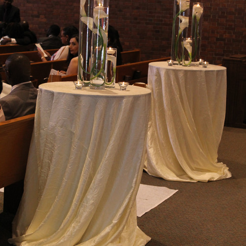 immersed centrepieces