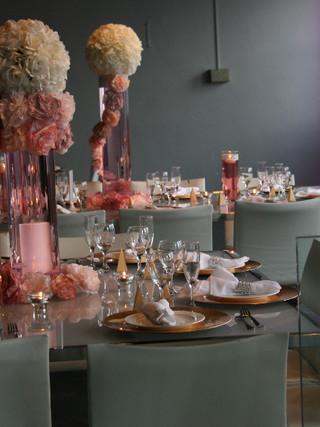 Modern blush decor