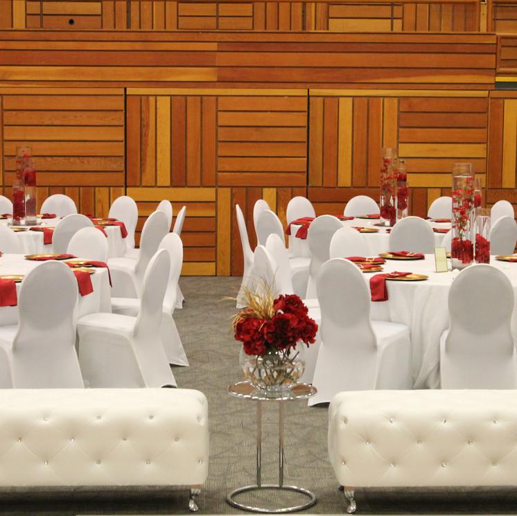 White diamond studded loungers