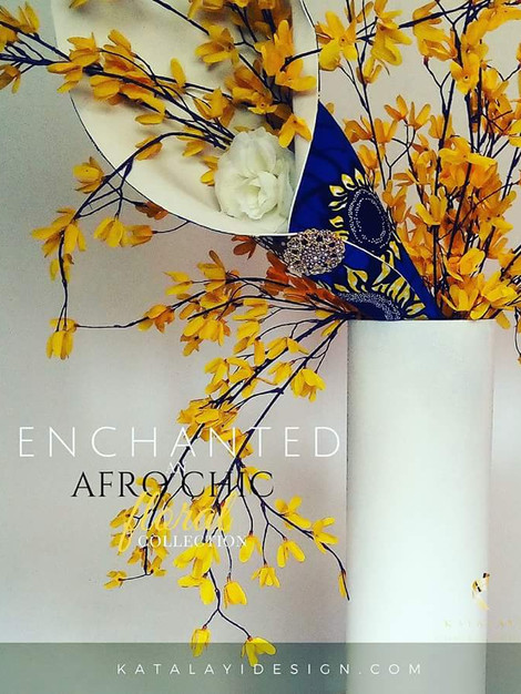 Afro Chic floral