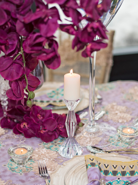 Afro Chic table linens