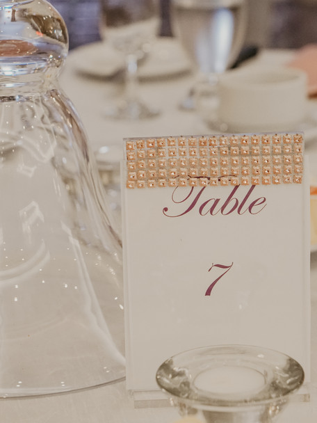 Tables numbers