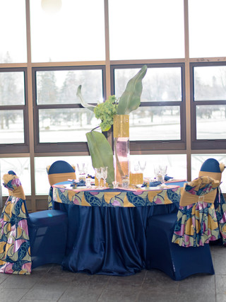 Afro Chic tablescape