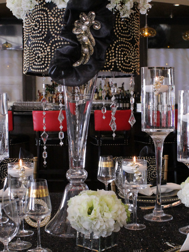 Custom tablescape