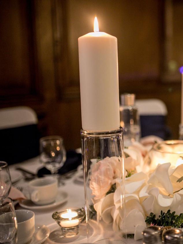 Candle centrepiece