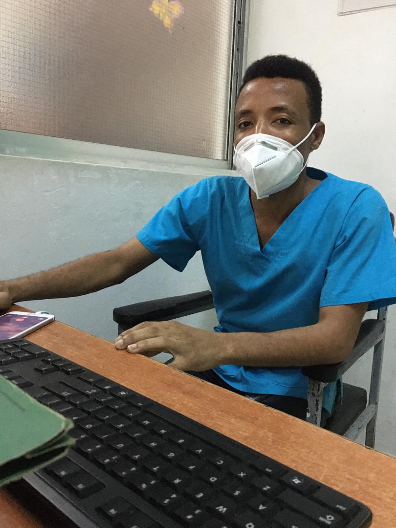 Nurse Charles Ghuliku