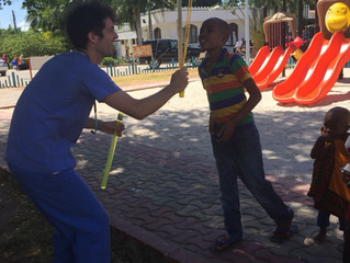 Dr Michael Conroy on Tanzania, TLM and life at Muhimbili National Hospital