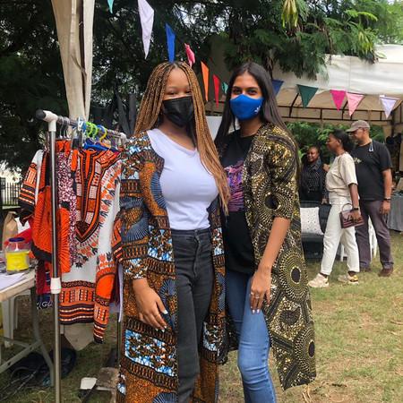 HOPAC HEROES: Students Aanika and Rina