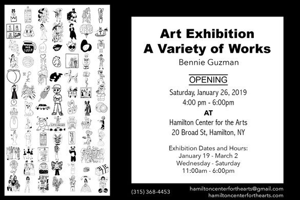 Art Exhibition: A Variety of Works
