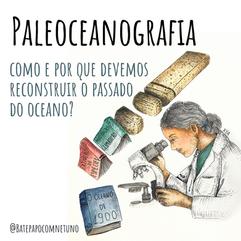 Paleoceanografia – como e por que devemos reconstruir o passado dos oceanos?
