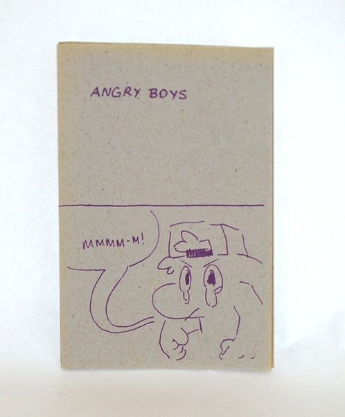 Angry Boys zine by Paul Peng