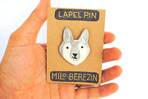 Lapel Pins by Milo Berezin