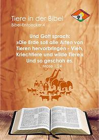 P38 Tiere in der Bibel Entdecker 4 komp.