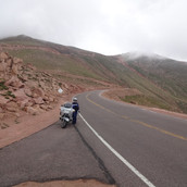 along the road to Pike's Peak