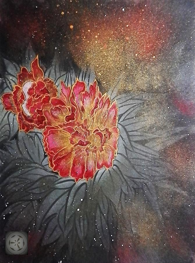 西林眞紀子 作品展-墨からひろがるアートの世界-