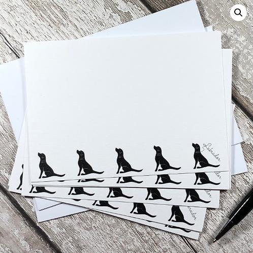Labrador Note Cards (Choose Lab Colour)