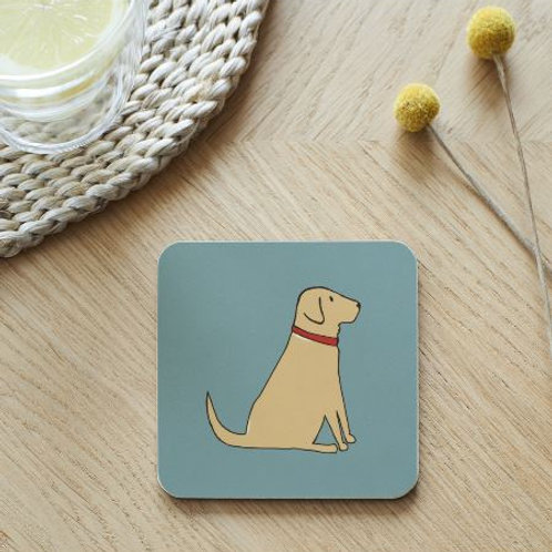 Labrador Coaster (Choose Lab Colour)