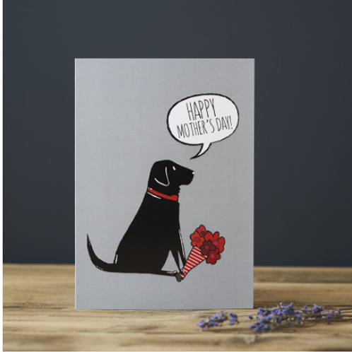 Mothers Day Black Labrador