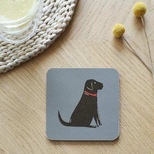 Black Labrador Coaster